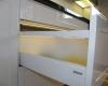 meble kuchenne szuflada blum antaro mdf biały wysoki połysk