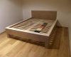 łóżko dąb